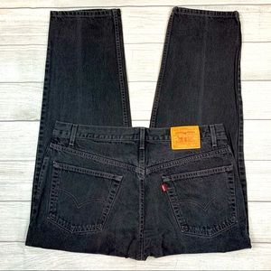 Vintage Levi's 550 Relaxed Fit Orange Tab Jeans